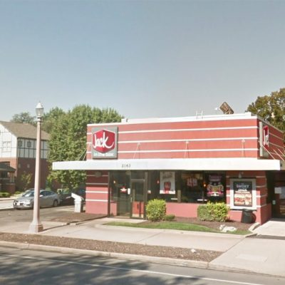 oficiales de policía, Jack in the box, accidente Jack in the box, st. louis, drive thru